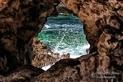Photograph - Window To The Sea by Christopher Holmes