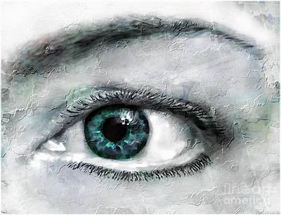 Photograph - Window To The Soul X by Debbie Portwood