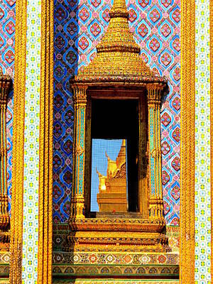 Photograph - Window To The Wat by Ramona Johnston