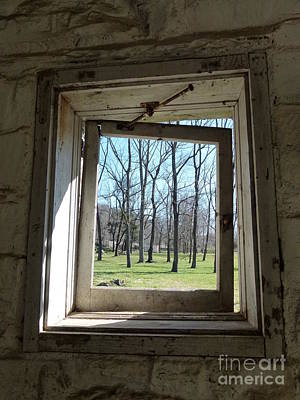 Photograph - Window To The World by Jane Ford