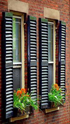 Photograph - Window Treatments by Caroline Stella