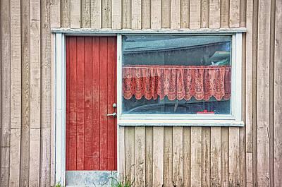 Window V Art Print by Cora Niele