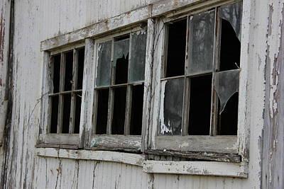 Farmhouse - Broken Glass by Jeff Roney