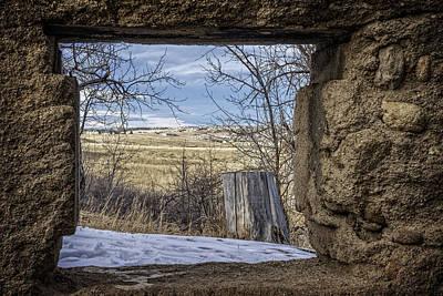 Photograph - Window View by David Waldrop