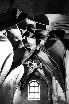 Prague Photograph - Window View by John Rizzuto