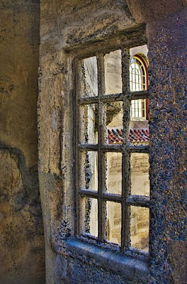Mercer Tile Photograph - Window View by Susan Candelario