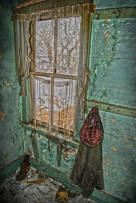 Abandoned House Photograph - Window Watcher  by Empty Wall