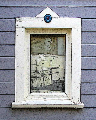 Digital Art - Window With Stories To Tell by Ben Freeman