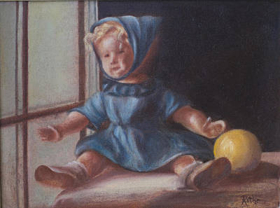 Shirley Temple Painting - Window World by Ruthe Dawes