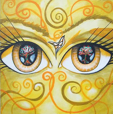 Jimerson Painting - Windows 2 The Soul by Annette Jimerson