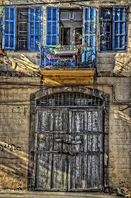 Photograph - Windows Above The Door by Ken Smith