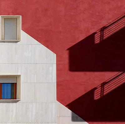 Balcony Photograph - Windows And Balconies by Nespyxel