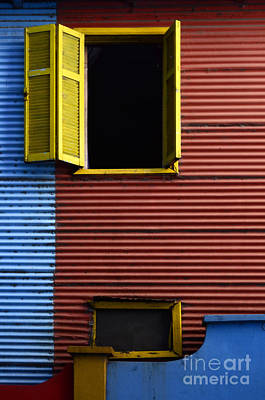 Photograph - Windows And Doors Buenos Aires 16 by Bob Christopher