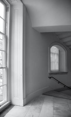 Windows And Stairway Art Print
