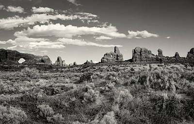 Photograph - Windows At Arches National Park by Sandra Selle Rodriguez