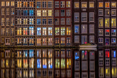 Amsterdam Wall Art - Photograph - Windows Browser by Peter Bijsterveld