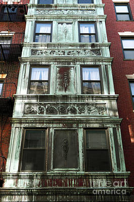 Photograph - Windows In Boston by John Rizzuto