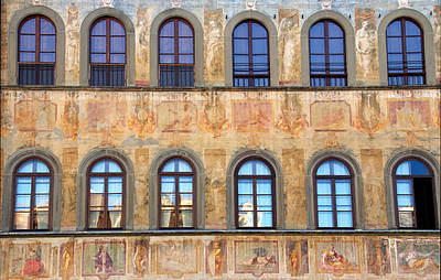 Photograph - Windows In Florence by Caroline Stella