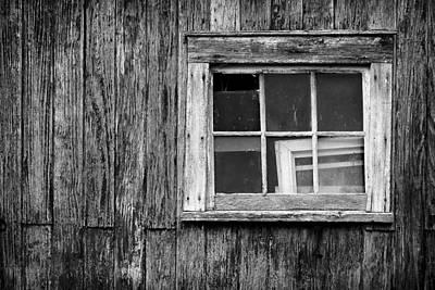 Windows In The Window Print by Jeff Burton