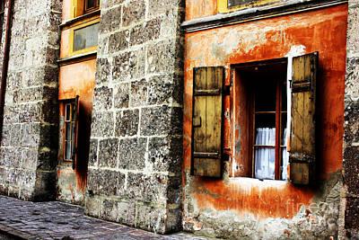 Windows Into The Past Art Print