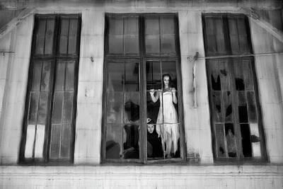 Broken Wall Art - Photograph - Windows by Livia Corcoveanu