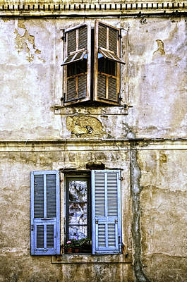 Photograph - Shutters by Maria Coulson
