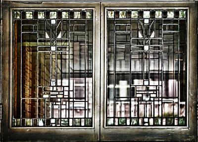 Windows Of A Prairie House  Art Print