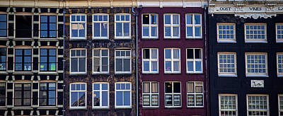Photograph - Windows Of Amsterdam. Holland by Jenny Rainbow