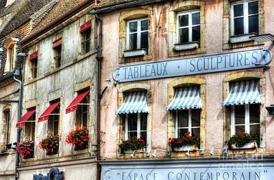 Photograph - Windows Of Beaune by Mel Steinhauer