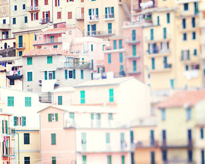 Photograph - Windows Of Cinque Terre Italy by Kim Fearheiley