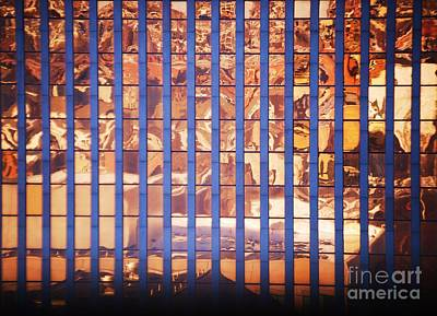 Windows Of Fire 2 Print by Marcus Dagan