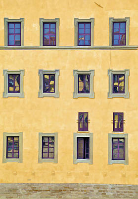 Photograph - Windows Of Florence by David Letts