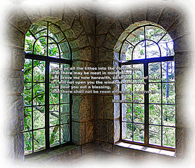 Photograph - Windows Of Heaven by Sheri McLeroy