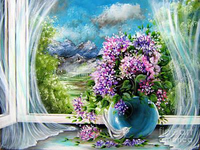 Windows Of My World Art Print