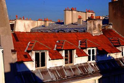 Photograph - Windows Of Paris by Jacqueline M Lewis