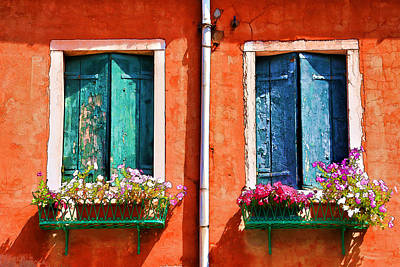 Photograph - Windows Of Venice by Brian Davis