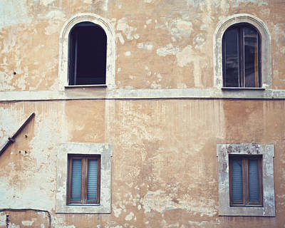 Photograph - Windows On Rome by Melanie Alexandra Price