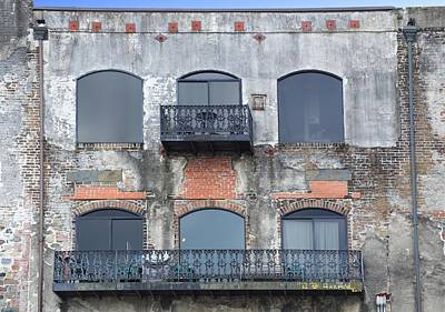 Photograph - Windows On Savannah by R B Harper