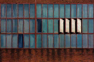 Rusty Photograph - Windows by Rolf Endermann