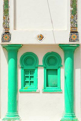 Windows, Tabarka, Tunisia, North Africa Art Print