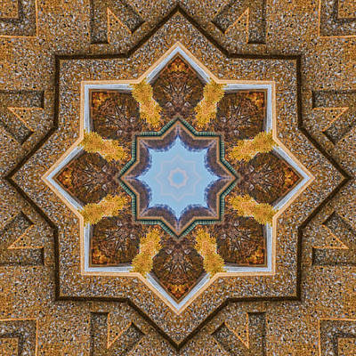 Photograph - Windows To Autumn Mandala 3 by Beth Sawickie
