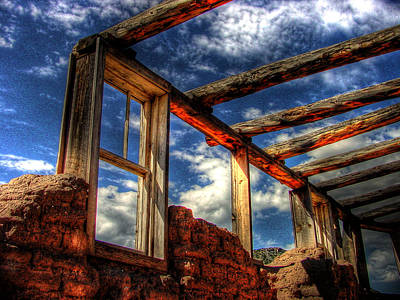 Windows To The Past Art Print by Timothy Bischoff