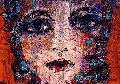 Windows To The Soul Art Print by Natalie Holland