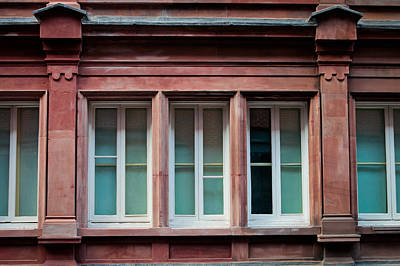 Address Photograph - Windows by Tom Gowanlock
