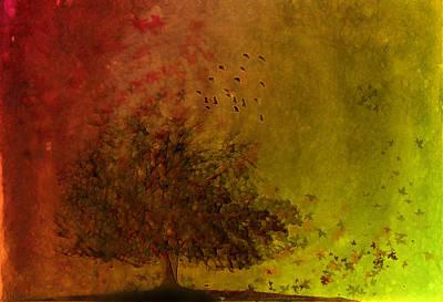 Winds Of Change Art Print by Hazel Billingsley