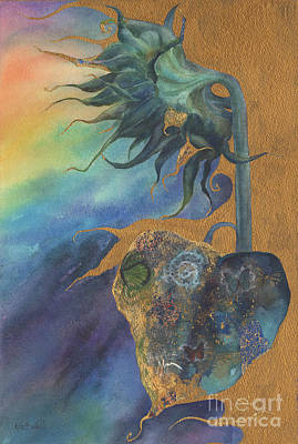 Winds Of Change Art Print by Kate Bedell