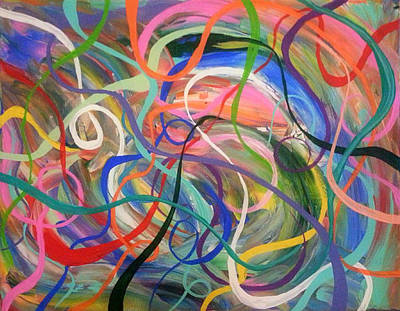 Diversity Painting - Winds Of Change by Rachel Donnelly