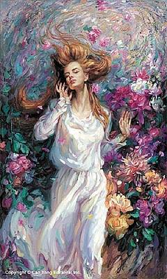 Cao Yong Painting - Winds Of Love by Cao Yong