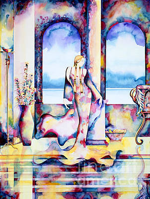 Painting - Winds Of Paradise by Frances Ku