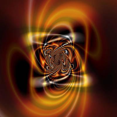 Digital Art - Winds Of Time by Kiki Art